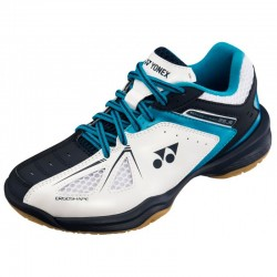 Badminton Shoes Yonex PC 35 Junior White-Blue